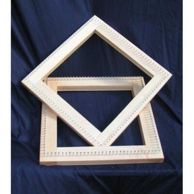 12″ Square Oak Frame Pin Loom 300mm