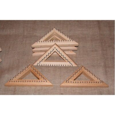 (tr1) A 6″ Tri Loom Oak Frame 15cm