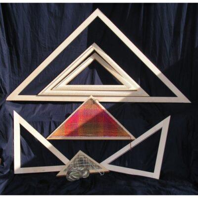 (tr8) 4′ Oak Frame Tri Loom 120cm
