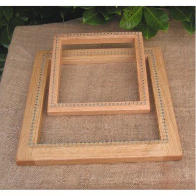 Oblong Pin Loom, Oak Frame, 12 x 18″  / 300x450mm