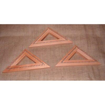 (tr2) A 9″ Tri Loom Oak Frame 22cm