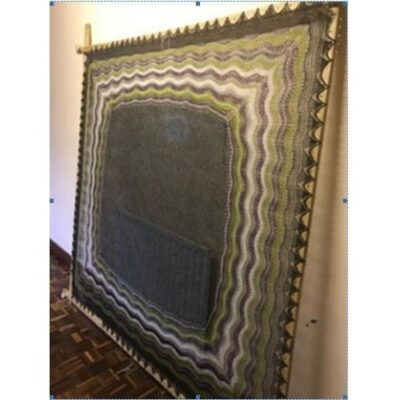 (Hp1) 7′ Square Hap Stretcher / Shawl Lace Blocking Oak Frame 2.1m x 2.1m