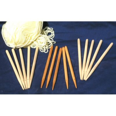 Ws1o Weaving Sticks a Pack of 5 – Oiled finish