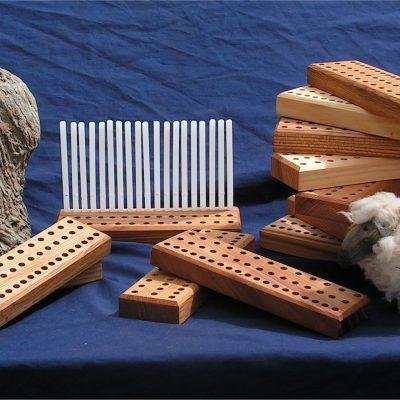 Mini Peg Loom 8″ (20cm) – various timbers