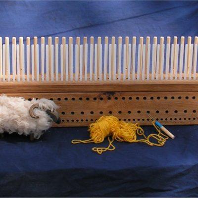 Oak Peg Loom – 4′ (120cm)